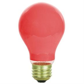 Sunlite 01130 60 Watts Ceramic Red A19 Bulb 60a R Case Of 12