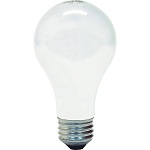 Case of 48 GE 100 Watt Soft White Incandescent Light Bulbs