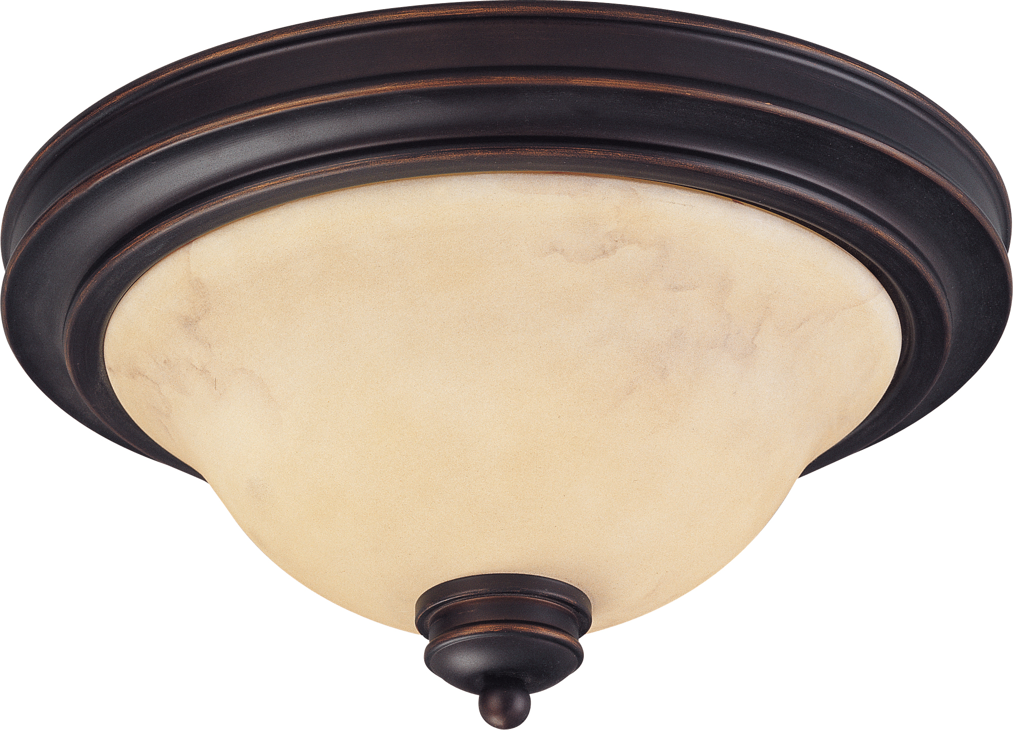 Home fixtures nuvo lighting 60 1406 2 lights 13 copper espresso close to ceiling with honey marble glass traditional style fixture
